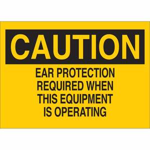 25462 EAR PROTECTION SIGN