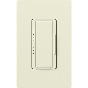 Lutron MRF2-600M-BI Wireless Dimmer, 600W, Digital Fade, Maestro, Biscuit