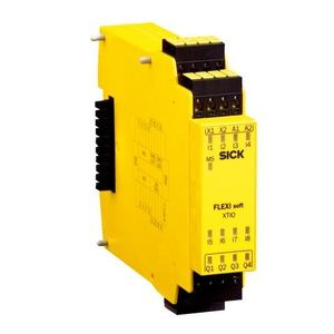 Sick Optic 1044125 I/O Module, Safety Controller, FX3-XTIO84002, 8 Inputs, 6 Outputs