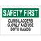 23066 FALL PROTECTION SIGN