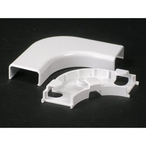Wiremold 2811FO-WH Nm Flat Elbow Fo/cat5 2800 White