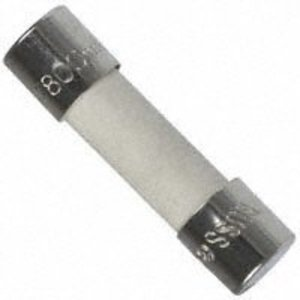 Eaton/Bussmann Series S501-5-R 5 Amp Fast-Acting Ceramic Fuse, 5mm x 20mm, 250V, RoHS