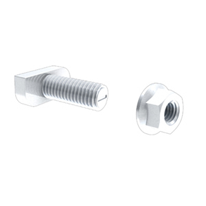 IronRidge QMR-TB-A-300 T-Bolt w/ Nut, Stainless Steel, for QRail
