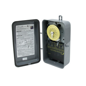Intermatic T104R Mechanical Timer, 24-Hour, DPST