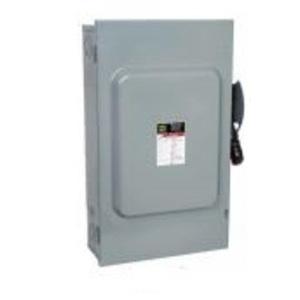 Square D H361EI Disconnect Switch, Fusible, NEMA 1, 30A, 3P, 600VAC, Heavy Duty