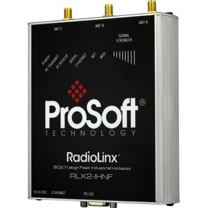 Prosoft Technology RLX2-IHNF-A Wireless Hotspot, 802.11abgn, Fast Industrial, DIN Rail