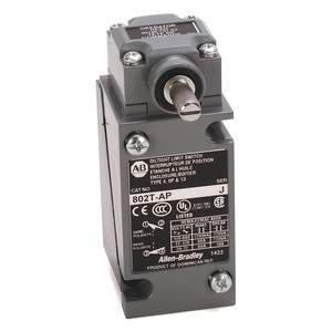 Allen-Bradley 802T-AP Limit Switch, NEMA 4/13, Plug-In, Lever Type, Spring Return