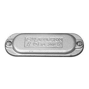 "Appleton 380F Conduit Body Cover, Wedge Type, Form 8, 1"", Iron"