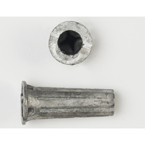 "Bizline 9419J Lead Anchor, 6-8 x 1-1/2"", 1/4"" Diameter"