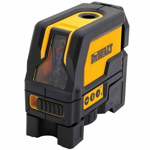 DEWALT DW0822 Self Leveling Cross Line and Plumb Spots