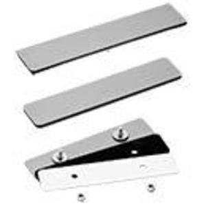 nVent Hoffman A3456BAP Adapter Plate, Blank, Material/Finish: Steel/Gray