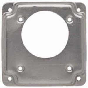 "Hubbell-Raco 817C 4"" Exposed Work Cover, (1) Single Receptacle, Offset"
