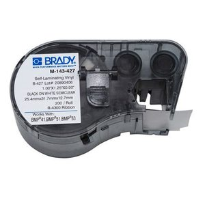 Brady M-143-427 Label Maker Cartridge