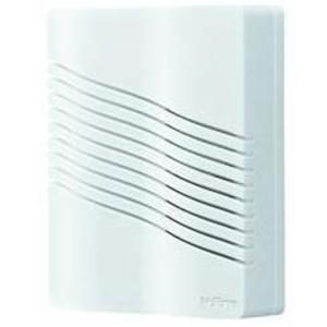 Nutone LA206WH Wireless Chime Kit, Portable, Contemporary Wave, White *** Discontinued, See Item LA226WH ***