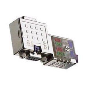 Woodhead PA9D01-42 D-Sub Connector, 90°, Integrated Diagnostics, 9-Pole
