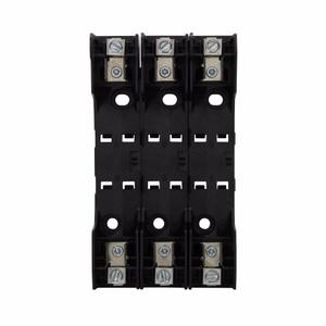 Eaton/Bussmann Series RM60030-3CR Fuse Block, Class R Modular Knifeblade, 3P, 01 - 30A, 600VAC
