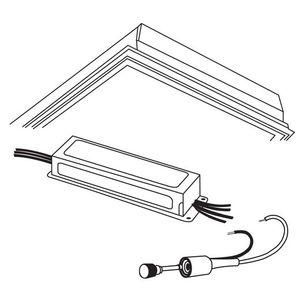 Metalux DF-14W-U Frame Kit, 1 x 4'