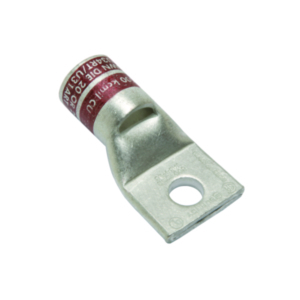 Burndy YA2CL2 COMPRESSION LUG COPPER 1 HOLE 1/4IN STANDARD