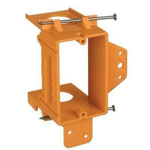 Carlon SC100A Mounting Bracket, 1-Gang, Low Voltage, Non-Metallic