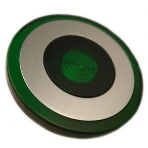 Eaton 10250TC48 Push Button, 30mm, Push-Pull, Green, 40mm, Plastic, Lens