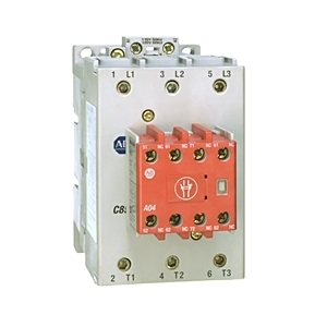 Allen-Bradley 100S-C09EJ14BC Contactor, Safety, 9A, 24VDC, Coil, Bifurcated Contacts, 4NO, 4NC