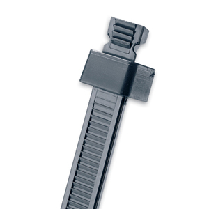 Panduit SST1M-C0 Cable Tie, 2-Piece, 4.0L (102mm), Miniat