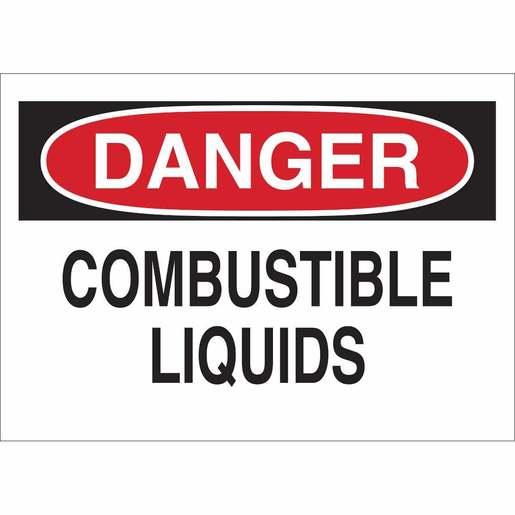22317 CHEMICAL & HAZD MATERIALS SIGN