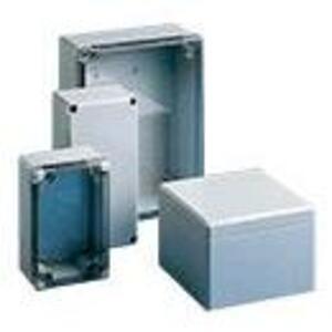 "nVent Hoffman Q12129ABD Junction Box, NEMA 4X, Screw Cover, 4.8"" x 4.72"" x 3.35"""
