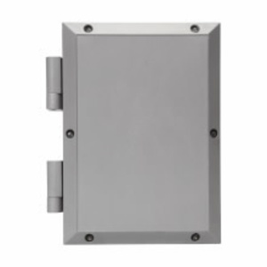 "Cooper Crouse-Hinds NJB050905 Junction Box, NEMA 4X, Screw Cover, 5 x 9 x 5"", Fiberglass/Polyester"