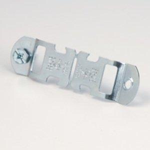 "Cooper B-Line BPC-32 Conduit Clamp, Type: Break-Apart, Rigid: 2"", EMT: 2"", Steel/Zinc"