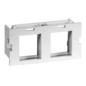 Hubbell-Premise HWM2KW10 PLATE, MODULE,WM 2A,2PORT,10PK,WH