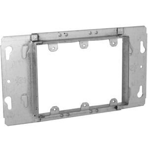 """Hubbell-Raco 822 Gang Box Device Cover, 3-Gang, 3/4"""" Raised"""