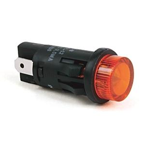 Allen-Bradley 800L-12L10RS Push Button Indicator Light, Size: 12mm, Type: LED, 120V AC, Red