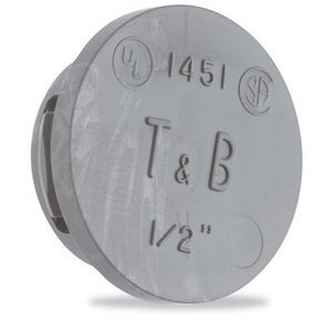 """Thomas & Betts 1456 Knockout Seal, Type: Snap-In, Size: 2"""", Thermoplastic"""