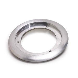 """Lew SCF-1-A Round Flange, Diameter: 5-1/4"""", ALuminum"""