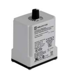 Square D 9050JCK36V20 Relay, Timer, 10A, 240VAC, 120VAC Coil, 8 Pin, DPDT, Interval