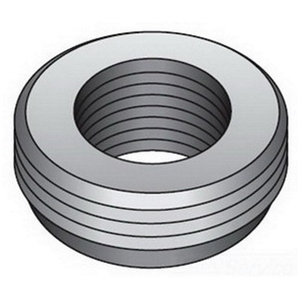 "OZ Gedney RB-322S Reducing Bushing, Threaded, 1"" x 3/4"", Steel"