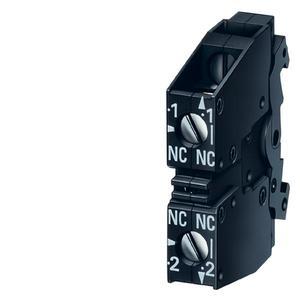 Siemens 3SB3400-0D Accessory, Act. W/2 Contacts,2no