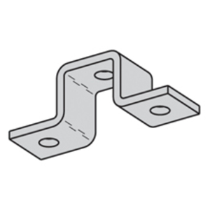 Eaton B-Line B107SS4 FIVE HOLE U-SUPPORT, STAINLESS STEEL 304