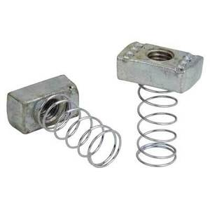 "Superstrut A100-1/2 Spring Nut, 1/2"", Electro-Galvanized Steel"