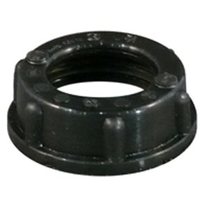 "Appleton BBU-250 Conduit Bushing, Threaded, Insulating, 2-1/2"", Thermoplastic"