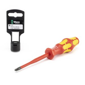 Wera Tools 05100126001 Slim Line Blade Slotted Screwdriver, Philips/Slotted