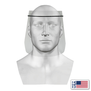 D6 Inc FACESHIELD-A RX SAFETY FACE SHIELD