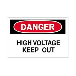 Brady 40668 Electrical Hazard Sign