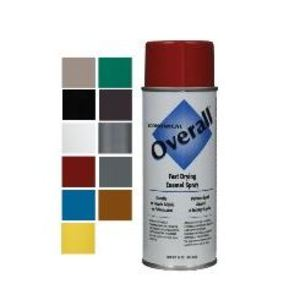 Copper State Nut & Bolt 31SP-V2410830 Overall Spray Paint, Enamel Aerosol, Green, Gloss, 10 Ounce