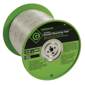 """435 TAPE MEASURE 3/16"""" POLY(21562)"""