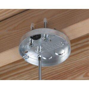 """Arlington FBS407T STEEL PAN MT BX: 5/8"""" DRYWALL - THR"""