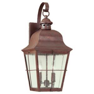 Sea Gull 8463-44 Outdoor Wall Lantern Two Light