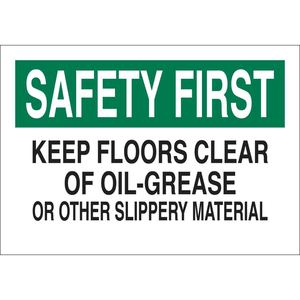 25630 FALL PROTECTION SIGN
