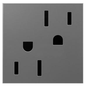 Pass & Seymour ARTR152-M4 2-MODULE TAMPER RESIS OUTLET 15A
